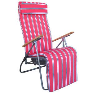 Cadeira relax com almofada