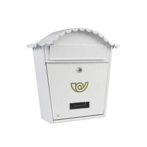 Caixa de correio Branca nº1