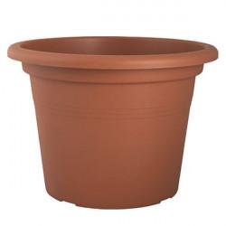 Vaso cilindro veneza 20cm terracota