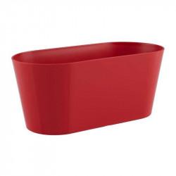 Floreira Porto 30cm vermelho