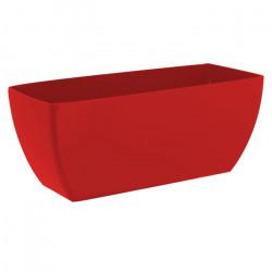 Floreira Siena 30cm vermelho