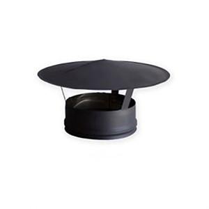 Chapéu de Inox sem cone interior com diâmetro de 80 mm