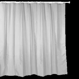 Cortina casa de banho 200x200 cinza