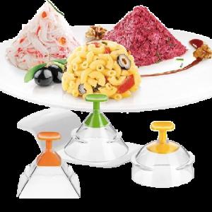 Conjunto de 3 formas 3D