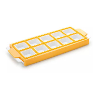 Conjunto 10 formas para ravioli quadrado