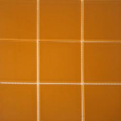 Pastilha 9,8×9,8 Amarelo em rede