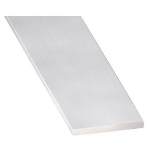 20X2 Prata 1MT Alumínio Chato