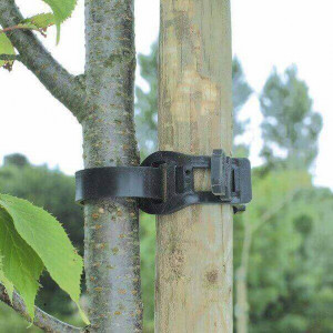 Abraçadeira de plástico para árvore 45cm