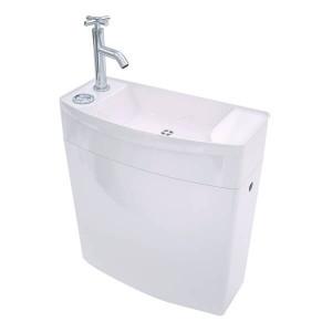 Autoclismo compacto 3/6L com lava mãos