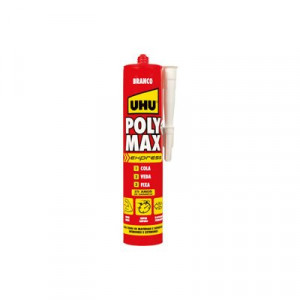 Cola e veda Poly Max Express branco 425 g