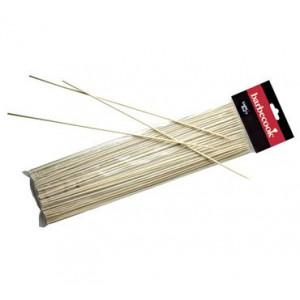 Espetos em bamboo