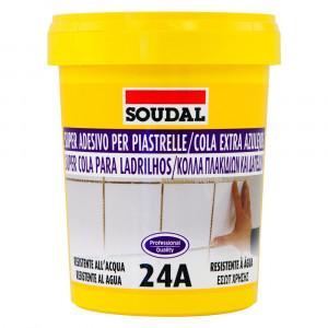 Cola para azulejos 24A bege 1 kg
