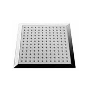 Chuveiro fixo quadrado anticalcário Cromado Tonic