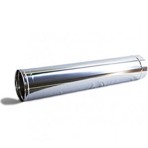 Tubo rigido 180mm aço inoxidável
