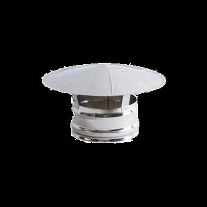 Chapéu Inox 304 04 sem cone interior diãmetro de 160