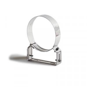 Braço de apoio regulável 4/8 cm Inox 304 40x1,5 diametro 80