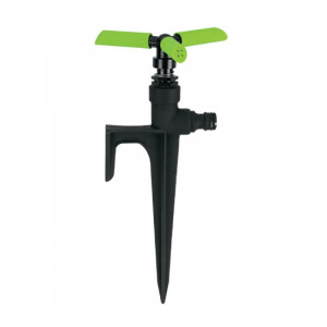 Aspressor rotativo de 3 braços com espeto