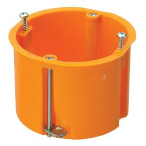 Caixa aparelhagem funda agrupáveis para paredes ocas