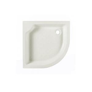 Base de duche de canto 75x75 cm Elsy Pergamon