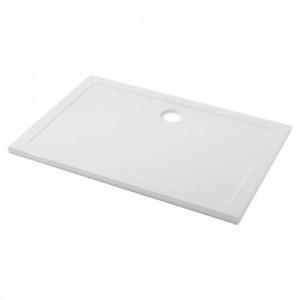 Base duche e-plana 140x80x4 aba 4 open acrílico branco