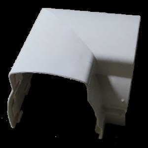 Angulo 90º exterior Devorex Branco