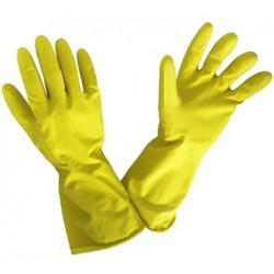 Luva menage latex amarelo tamanho 7