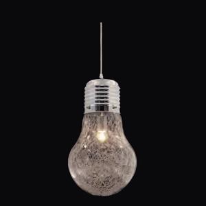 Candeeiro de teto Bulb Cromado