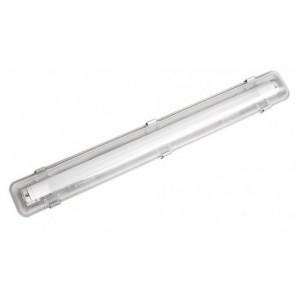 Armadura LED + lâmpada T8 8 W