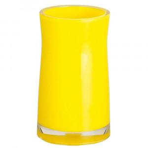 Copo Sydney acrilico amarelo