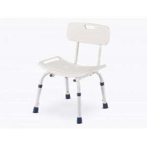 Cadeira Ponny back branco de duche