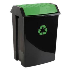 Balde de Reciclagem 50L Verde