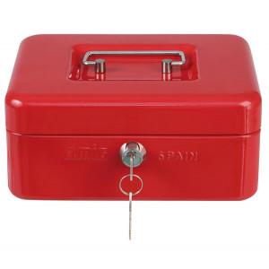 Cofre portátil vermelho