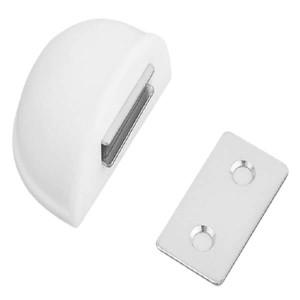 Batente de Porta Adesivo Magnético 403 - 50 Branco