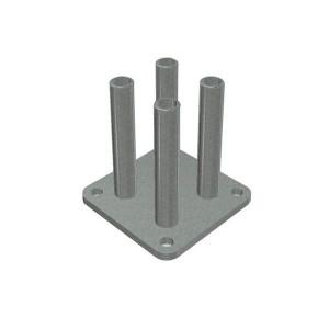 Base basfix floor galvanizado