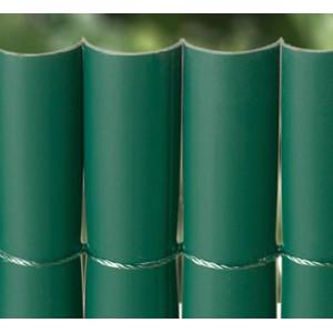 Caniço em pvc simples verde 1x5