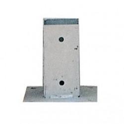 Base para poste 9x9x75cm
