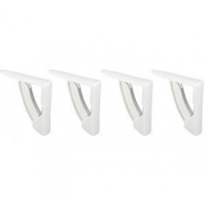Conjunto de 4 pinças multiusos para segurar toalha