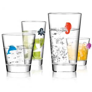 Conjunto Myglass de 12 marcadores para copos
