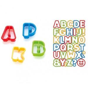 Conjunto 34 Corta Massa Alfabeto Del kids