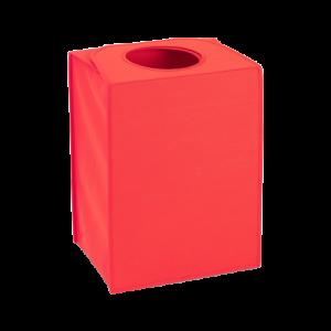 Saco lavandaria rectangular vermelho