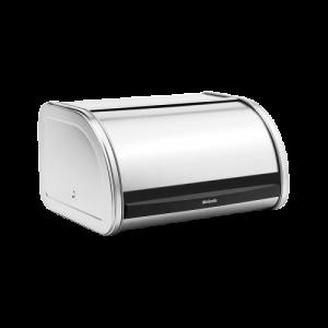 Caixa para pão média com abertura por cima em Inox mate