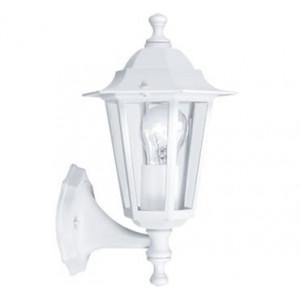 Aplique lanterna 5 1x60W E27 alumínio branco