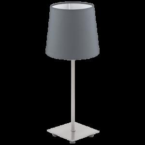 Candeeiro de mesa Lauritz 1x40W E14 antractite