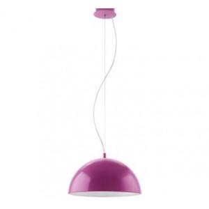 Candeeiro de teto Gaetano 38cm violeta