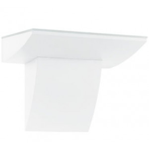 Aplique Fontela Led 2x2,5W 380Lm alumínio branco