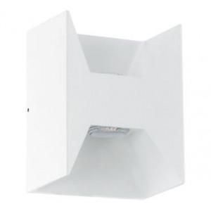 Aplique Morino 2x2,5W Led 380 lumens em alumínio branco