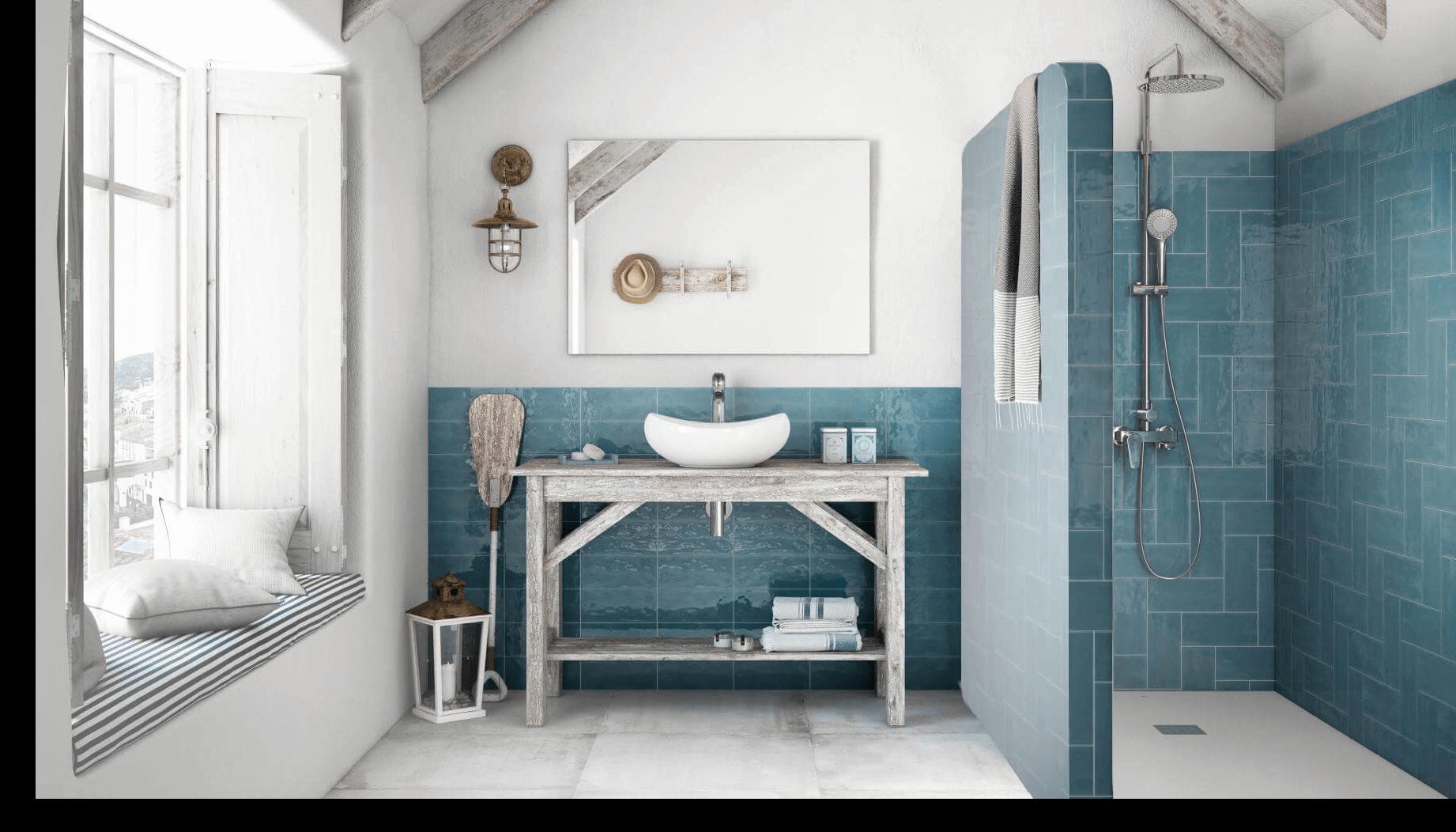 azulejos no duche